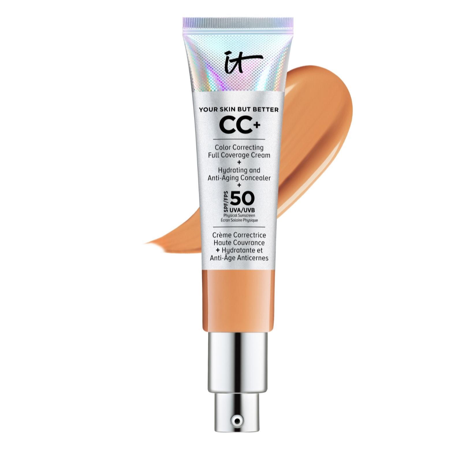 It Cosmetics Full Coverage Spf 50 Cc Cream 32ml Page 1 Qvc Uk