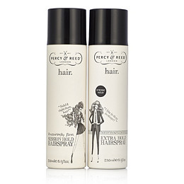 Percy & Reed 2 Piece Hold It Right There Hairspray Collection 250ml