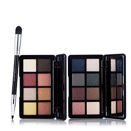 Laura Geller Luminous & Luxe Eyeshadow Palettes & Double Ended Brush