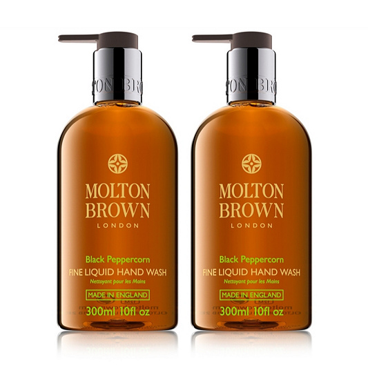 44cd6dc2f0cf Molton Brown Pepper 300ml Hand Wash Duo. Back to video