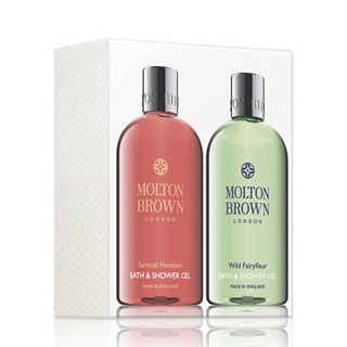 Molton Brown Sensual Hanaleni & Wild Fairyfleur Bath & Shower Duo