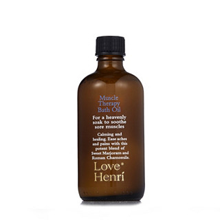Love Henri Muscle Therapy Bath Oil