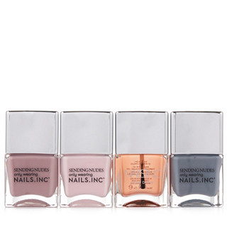 Nails Inc Nothing But Nudes Collection