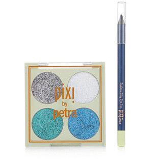 Pixi Glitter-y Eye Quad in Blue Pearl