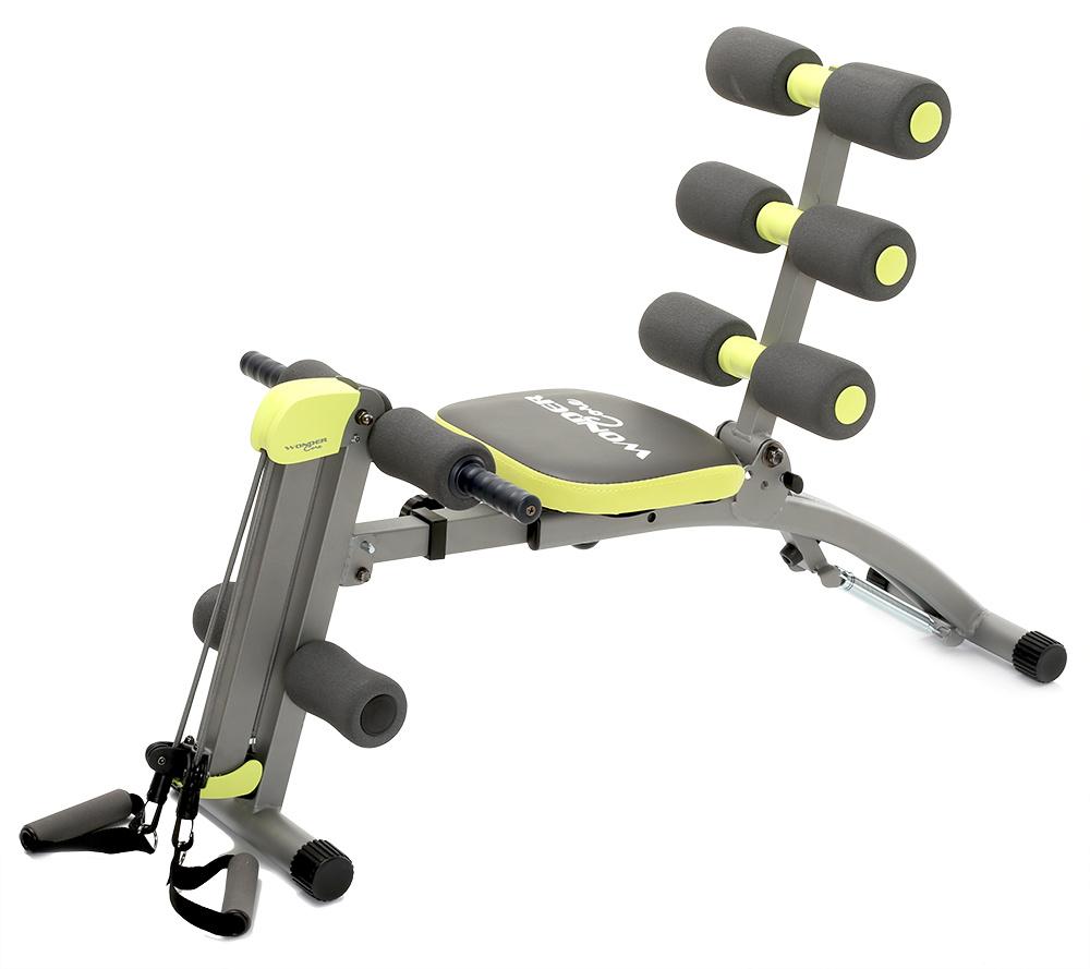 Qvc Sportgeräte wonder core ii fitnessgerät für den oberkörper 6in1 inkl. dvd - page