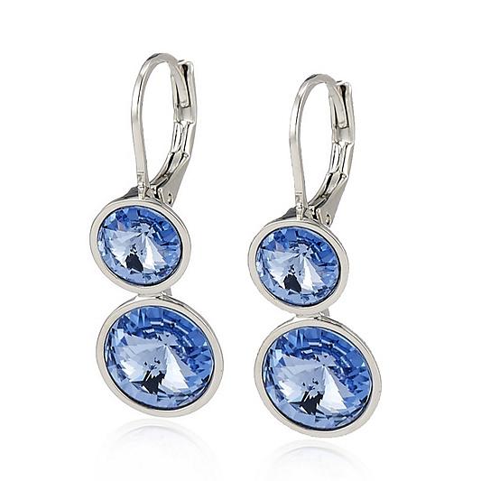 e496f89bb583 Outlet Aurora Swarovski Crystal Lever Back Earrings Qvc Uk