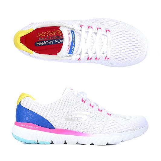 3bab28c2fd3d60 SKECHERS Damen-Sneaker Flex Appeal 3.0 Textil   Mesh Memory Foam ...