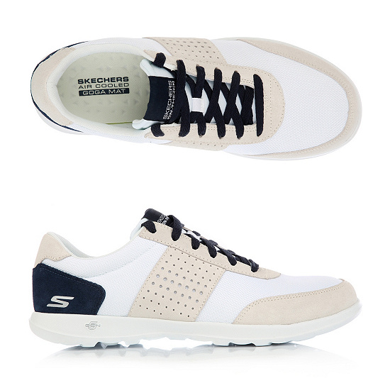 Skechers — Sneaker Textilamp; Technologie Go Lite Walk Leder Goga Damen Mat XTkPuOZwil