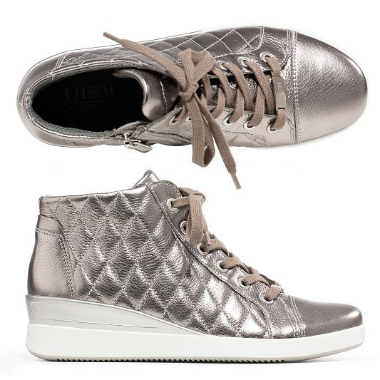 134f9e2e1f6a70 THOM by Thomas Rath Damen-Sneaker Fabrizio echt Leder Stepp ...