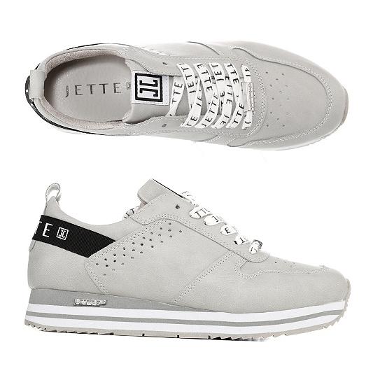 74f60f057dfbf9 JETTE Damen-Sneaker Lederimitat Logo-Senkel Glitzer-Sohle - Page ...