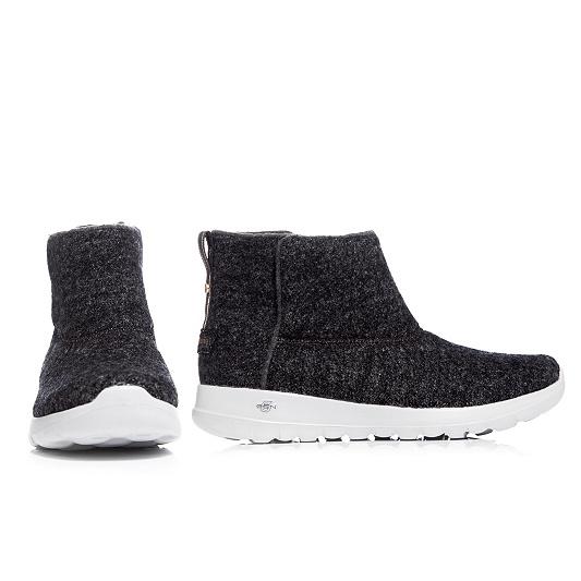 low priced 986a1 453ee SKECHERS Damen-Stiefelette Meadow Textil Memoy Foam — QVC.de