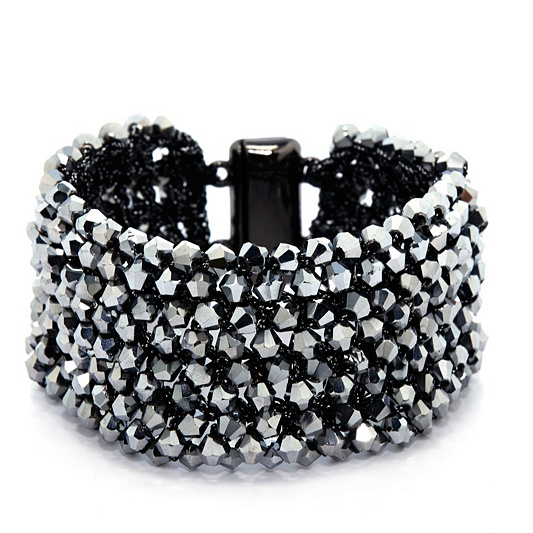 Frank Usher Crystal Magnetic Bracelet Back To Video