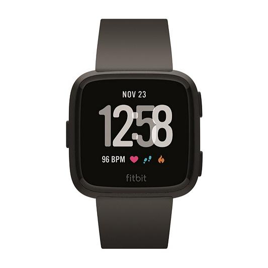 Fitbit Versa Smart Watch with Heart Rate Monitor - QVC UK 5e141e432