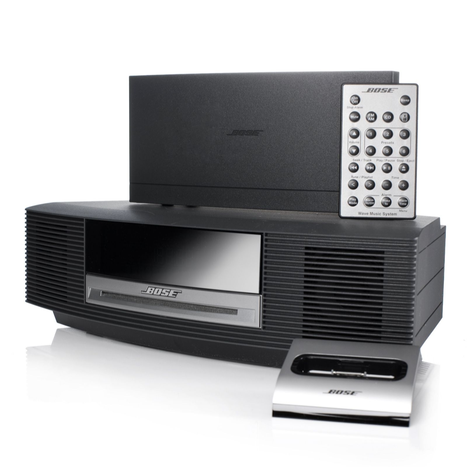 bose wave music system with dab radio ipod connect dock remote rh qvcuk com Bose Wave Radio System Bose Wave Systems Enclosure Plans