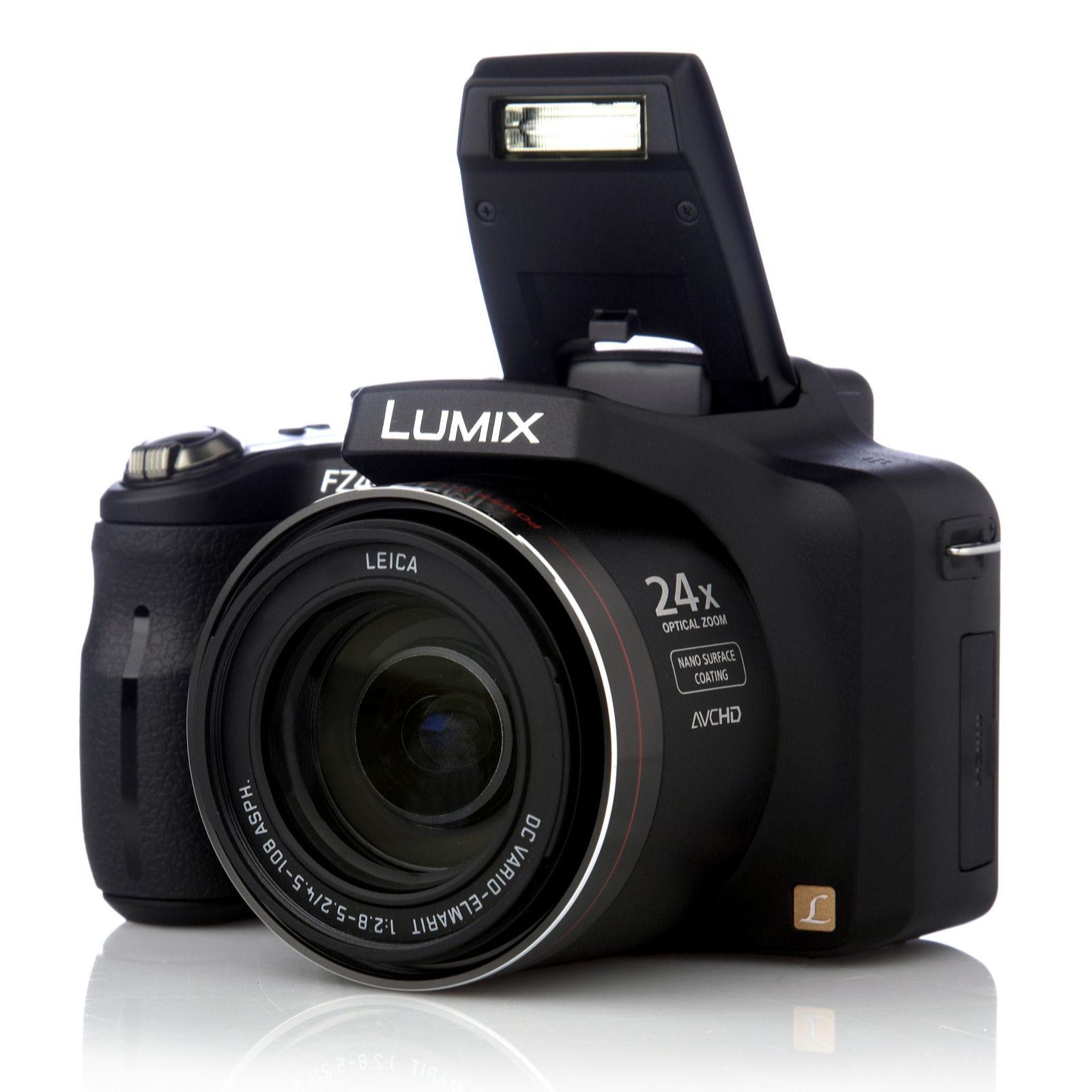 panasonic lumix fz48 12mp bridge camera 24x opt zoom hd video 4gb rh qvcuk com lumix fz48 user guide Instruction Manual
