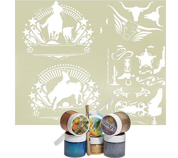 HEIKE SCHÄFER Textilgestaltung Western Style versch.Farben ...