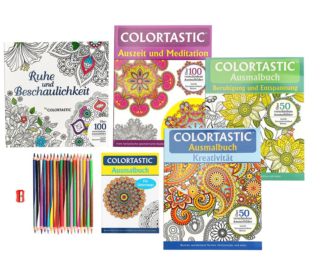 Colortastic 275 Malvorlagen Verschiedene Designs Inkl Stifte