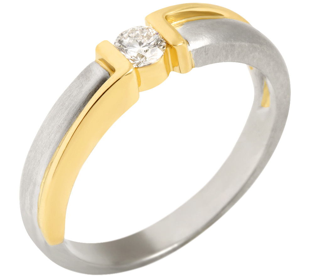 Das Bild Wird Geladen Schmuck Besonderer Solitaer Ring Mit 1