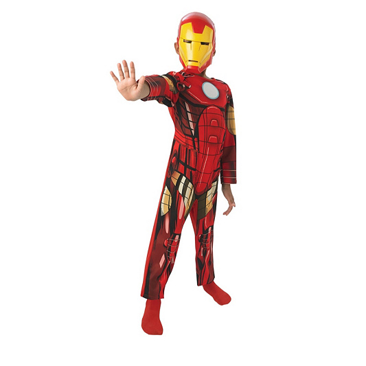 Marvel Classic Iron Man Kids Costume. product thumbnail. In Stock