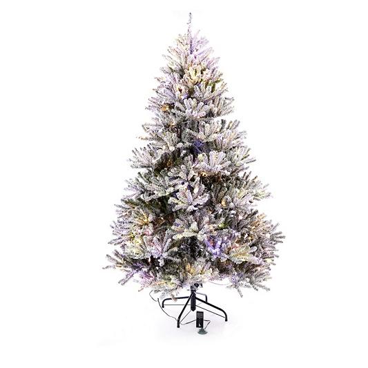 santas best pre lit douglas fir christmas tree with remote control back to video - Santas Best Christmas Trees
