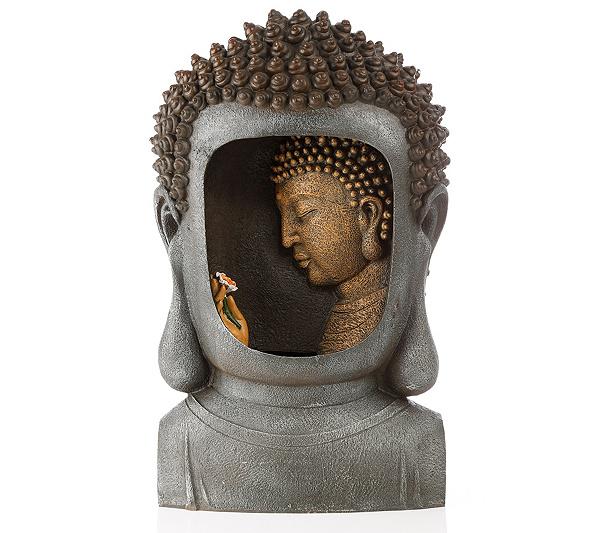 Lumida Casa Brunnen Buddha Timerfunktion Ca 36x17x60cm Page