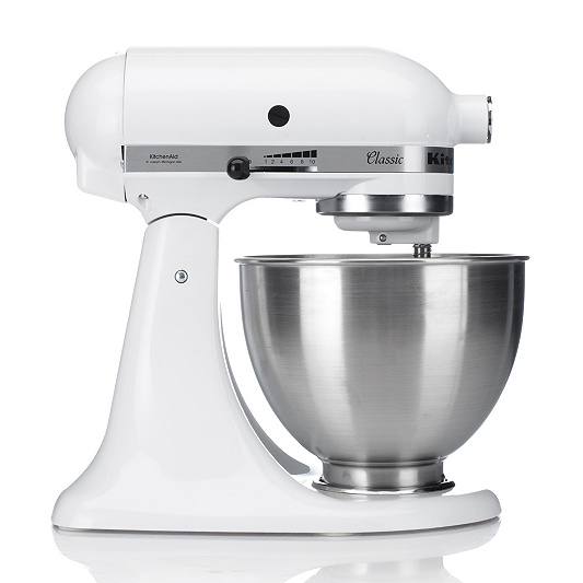 kitchenaid stand mixer with 4 25l bowl slicer and ice cream