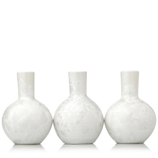 Kelly Hoppen Set Of 3 Mother Of Pearl Vases Page 1 Qvc Uk