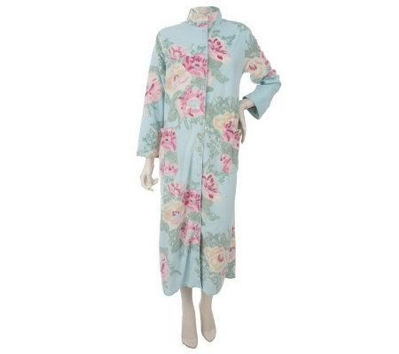 Pink micro fleece robe