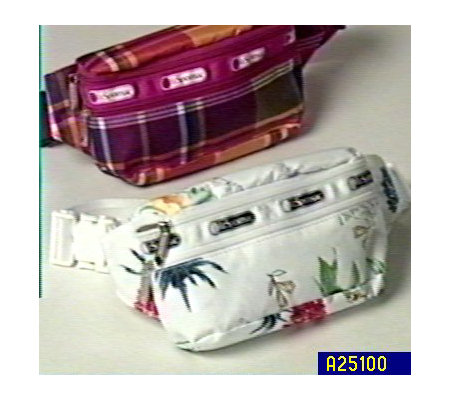 Lesportsac Double Zip Belt Bag