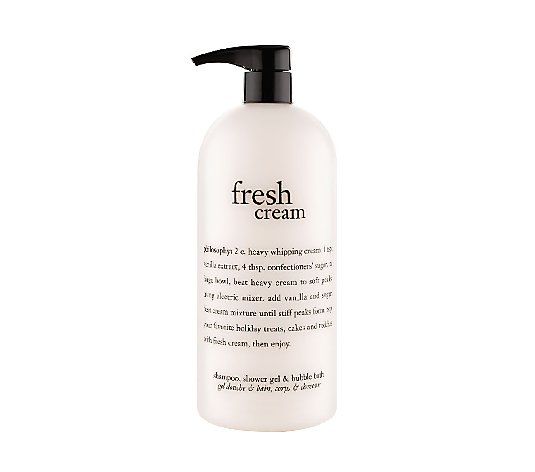 philosophy super-size fresh cream shower gel 32 oz