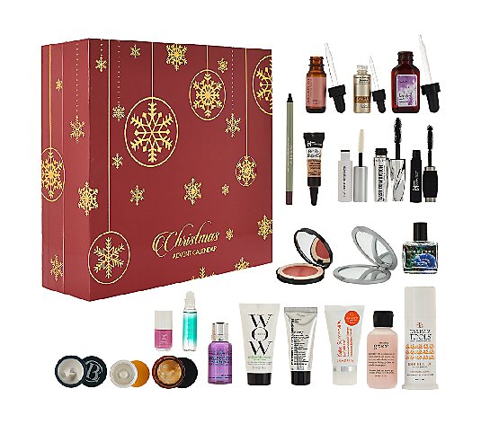 QVC Beauty Christmas Advent Calendar 24pc Collection