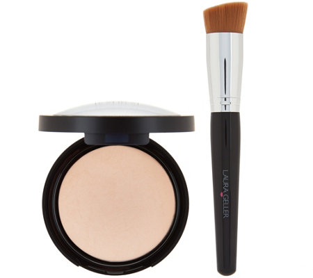 Laura Geller Double Take Baked Foundation w/ Brush