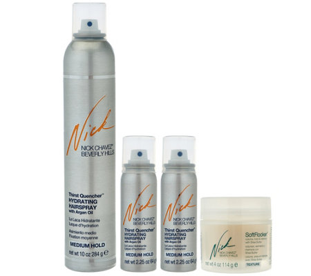 Nick Chavez Thirst Quencher & Soft Flocker Volumizing Kit