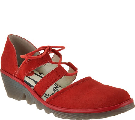 Fly London Women Poma Wedges Recommend Online RQAZ2tcmb