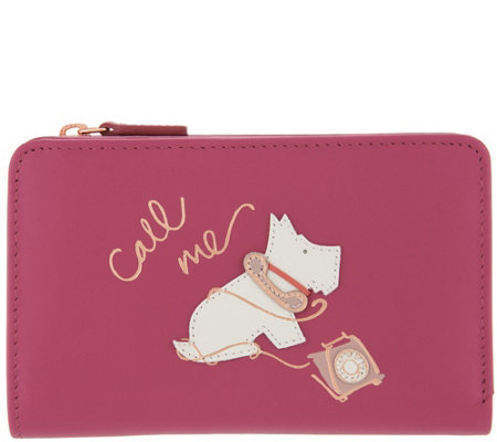 "RADLEY London ""Call Me"" Leather Medium Zip Top Wallet"