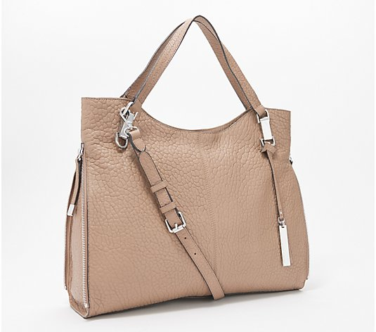Vince Camuto Lamb Leather Tote Handbag - Eliza