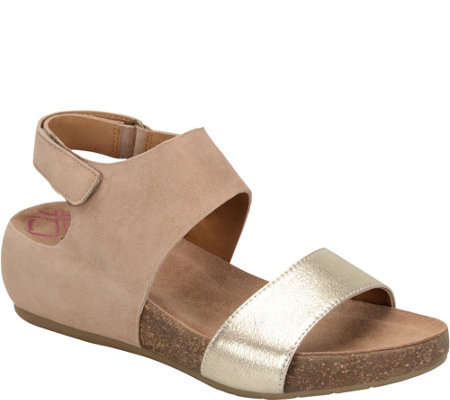 Comfortiva Leather Sandals - Seeley