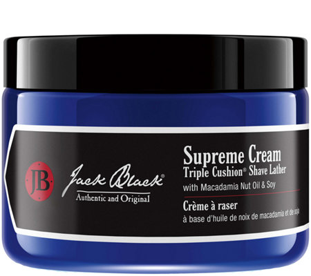 Jack Black Supreme Cream Triple Cushion Shave Lather, 9.5 oz