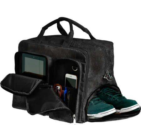 EARTH Braga Travel Bag - Black