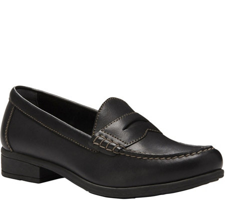 Eastland Leather Slip On Penny Loafers - Roxanne