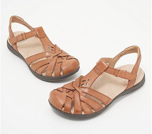 Earth Origins Leather Fisherman Sandals - Savoy Sheva