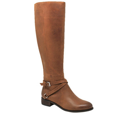 Charles David Classic Leather Riding Boots - Solo