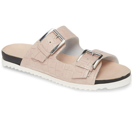 Charles David Slip- On Casual Flat Sandals - Lonnie