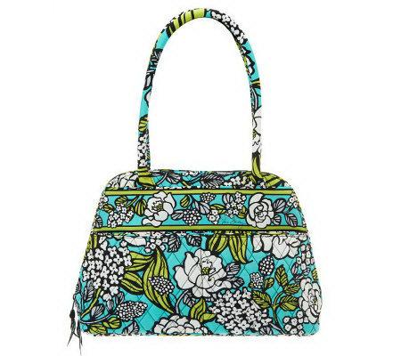 Vera Bradley Signature Print Bowler Handbag - Page 1 — QVC.com