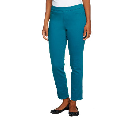 Isaac Mizrahi Live! Icon Grace Petite Ankle Length Pants