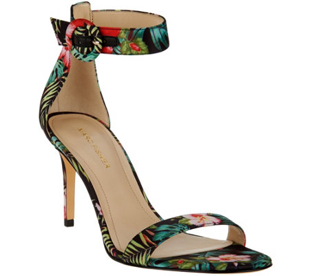 Marc Fisher Sandals w/ Ankle Strap - Bettye -