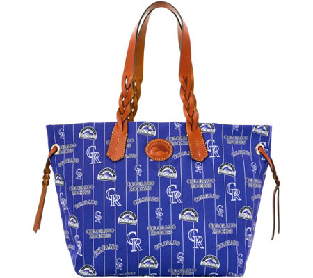 Dooney & Bourke MLB Nylon Rockies Shopper