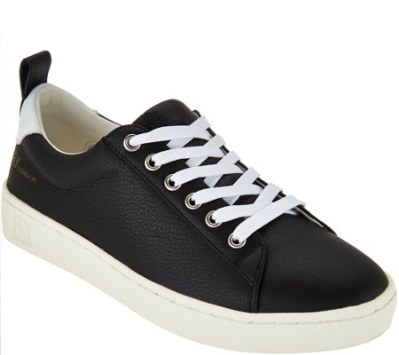 FLY London Leather Lace-up Sneakers - Maco