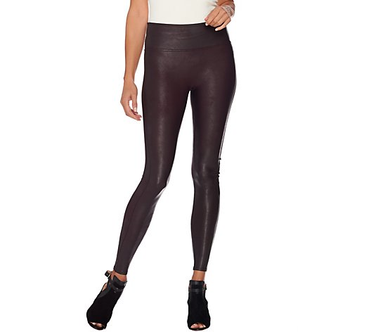 """As Is"" Spanx Faux Leather Leggings"