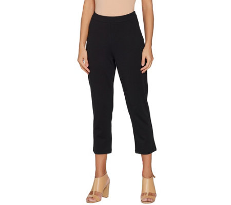 Linea by Louis Dell'Olio Regular Ponte Crop Pants